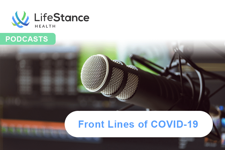 Podcasts - Front Lines of COVID-19