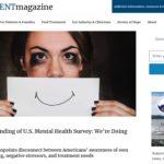 Surprising Finding of U.S. Mental Health Survey